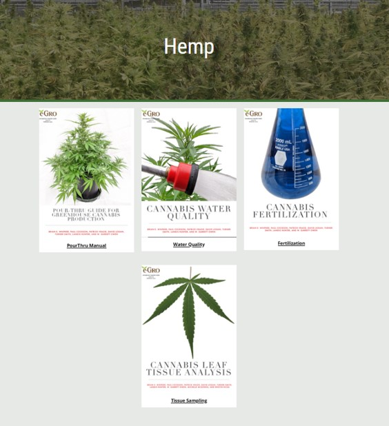 Cover of Hemp Nutritional Guides page